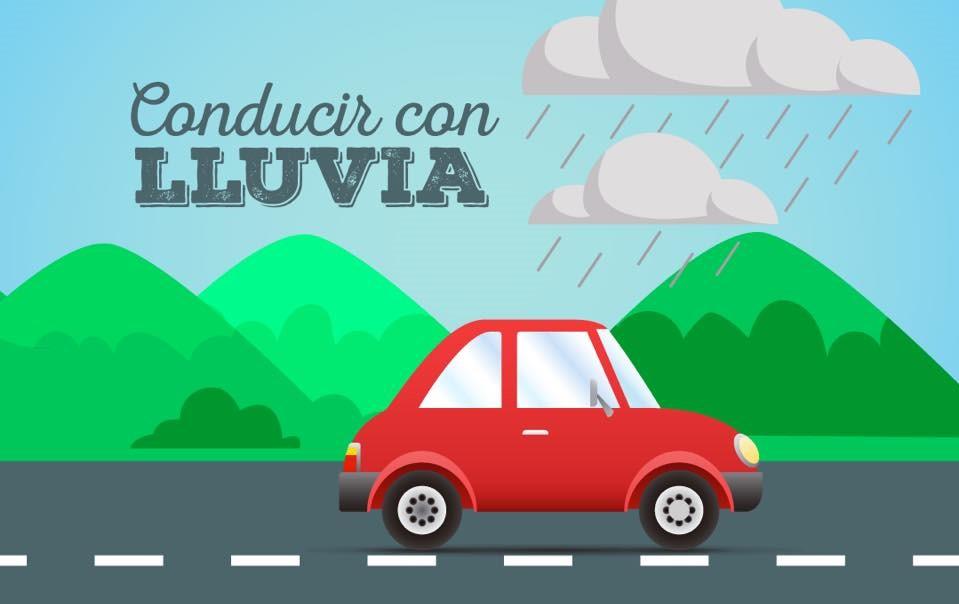 Conducir bajo la lluvia. Consejos que harán de su viaje mas seguro.