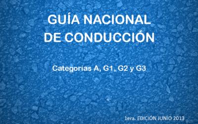 Manual de Conduccion para Vehiculos que circulan en Uruguay